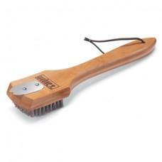 Kartáč na čištění roštů s bambusovou rukojetí 30 cm Weber