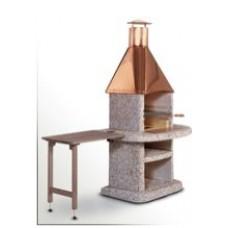 Stolek odkládací dřevěný KOMFORT šedý
