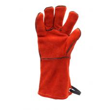 Kožené Grilovací rukavice BBQ premium